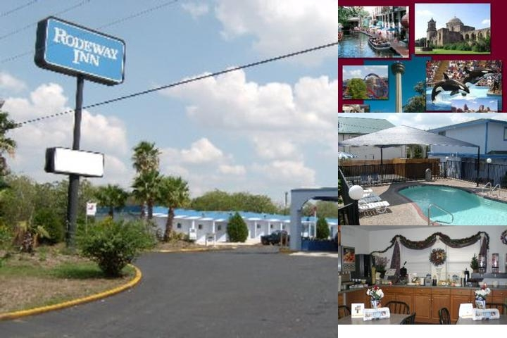 Rodeway Inn Lackland photo collage