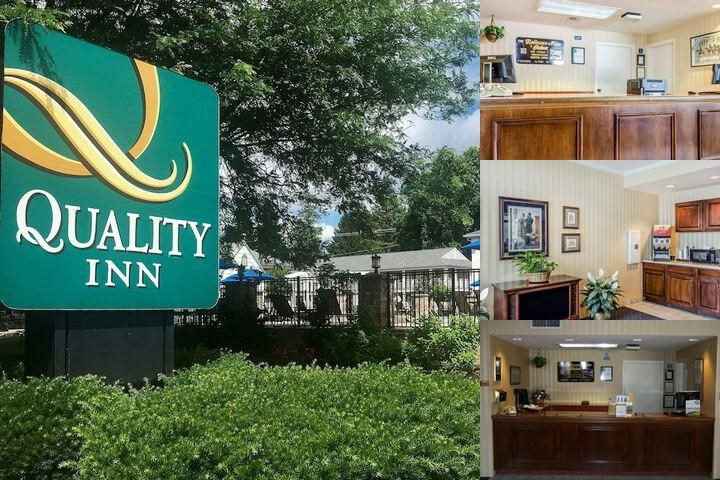 Quality Inn Gettysburg Motor Lodge photo collage