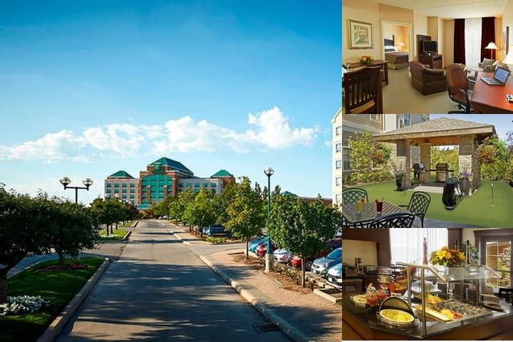 Staybridge Suites Oakville Burlington photo collage