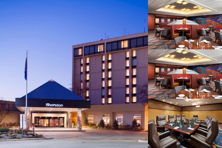 Sheraton Cleveland Airport photo collage