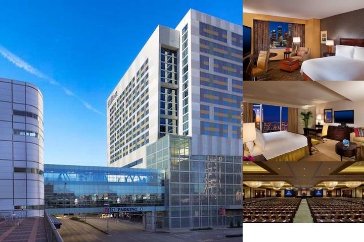 Hilton Americas Houston photo collage