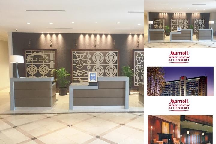 Auburn Hills Marriott Pontiac photo collage