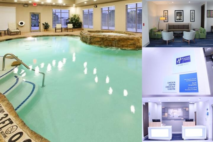 Holiday Inn Express & Suites Mansfield photo collage