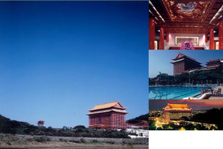 The Grand Hotel Taipei photo collage