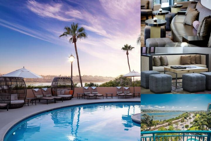Bayview Newport Beach Marriott Suites photo collage
