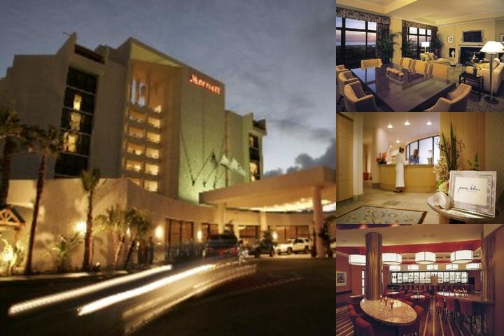 Marriott Newport Beach Hotel & Spa photo collage
