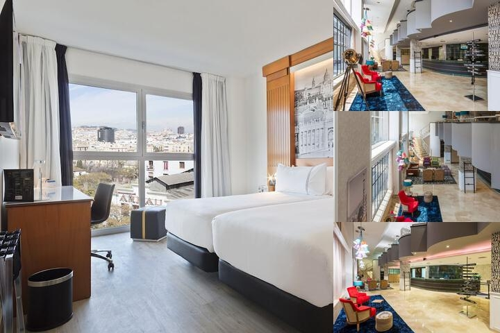 Tryp Barcelona Apolo Hotel photo collage