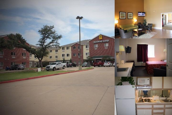 Crestwood Suites Austin photo collage
