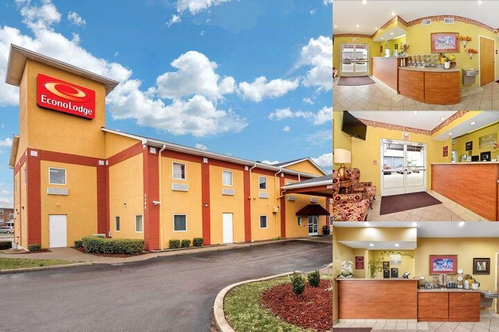 Econo Lodge Airport Fair & Expo Center photo collage