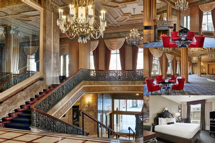 Kensington Park Hotel photo collage