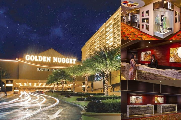 Golden Nugget Biloxi photo collage