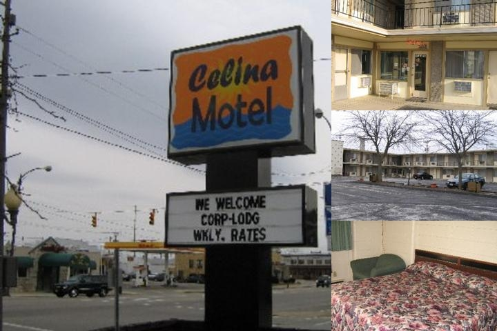 Celina Motel photo collage