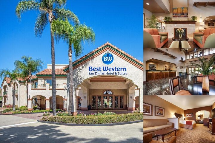 Best Western San Dimas photo collage