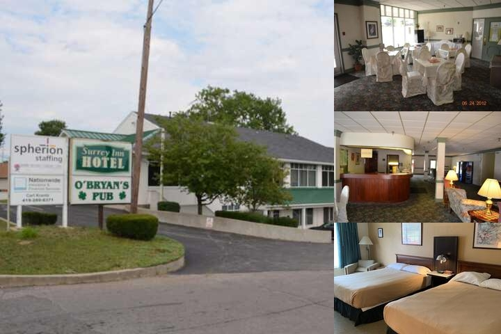 Surrey Inn photo collage
