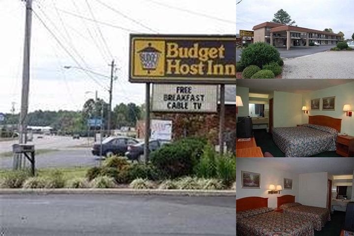 Budget Host Inn photo collage