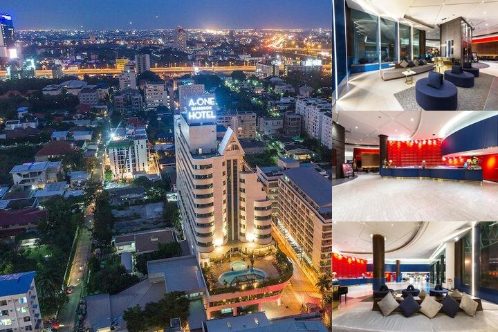 A One Bangkok Hotel photo collage