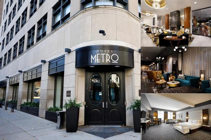 Hotel Metro photo collage