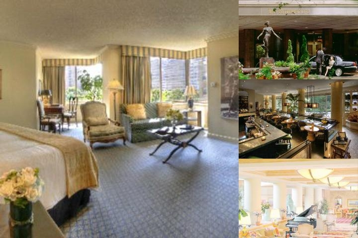 Rittenhouse Hotel photo collage