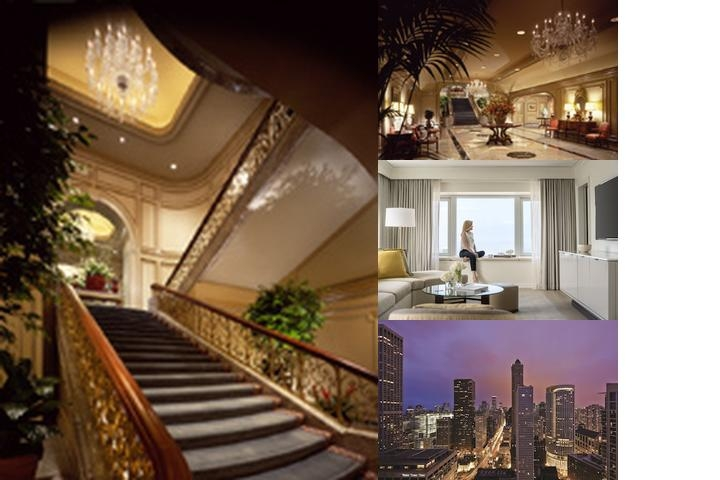 Four Seasons Chicago photo collage