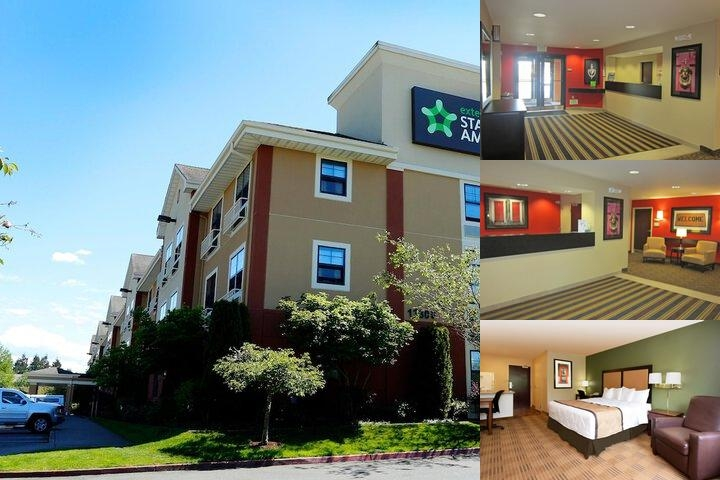 Extended Stay America Seattle Northgate photo collage
