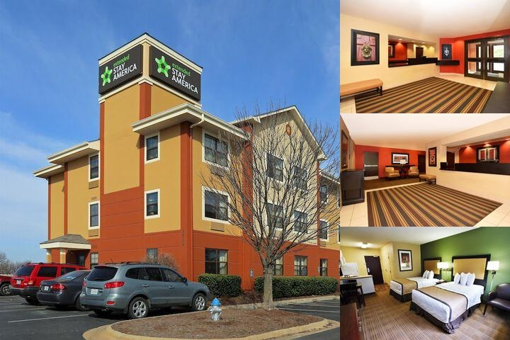 Extended Stay America Fayetteville Springdale photo collage