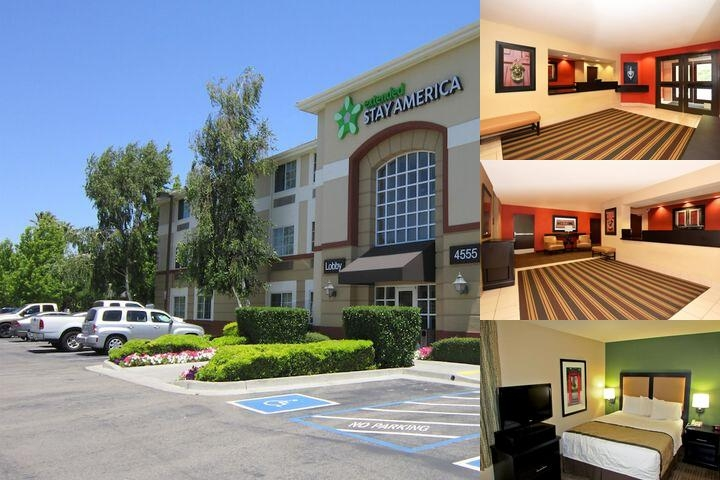 Extended Stay Deluxe Pleasanton Chabot Dr. photo collage