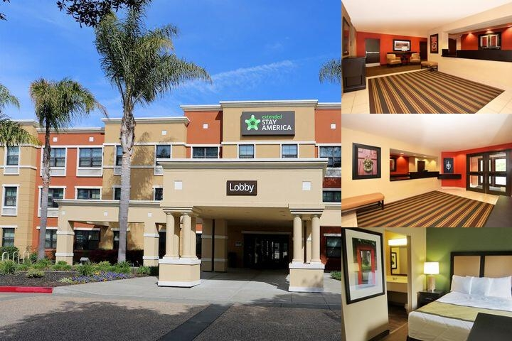 Extended Stay Deluxe Oakland Alameda Airport photo collage