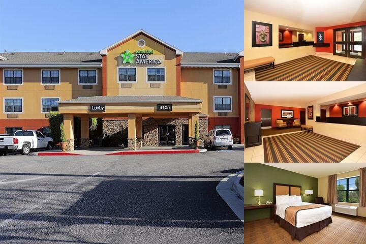 Extended Stay America Los Angeles Long Beach photo collage