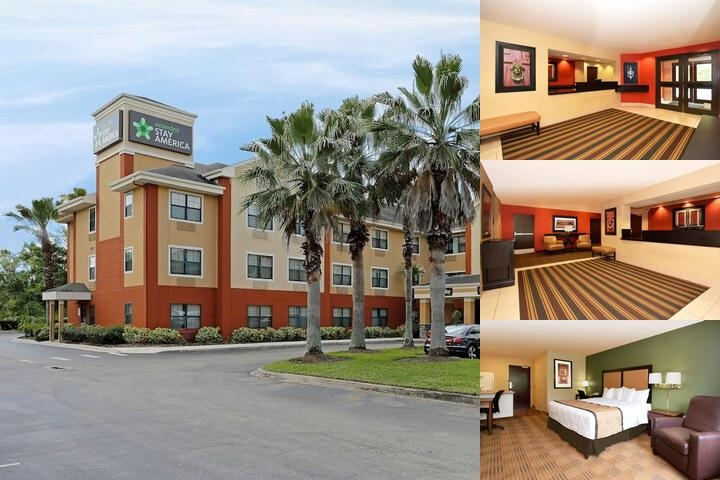 Extended Stay America Orlando Universal Studios photo collage