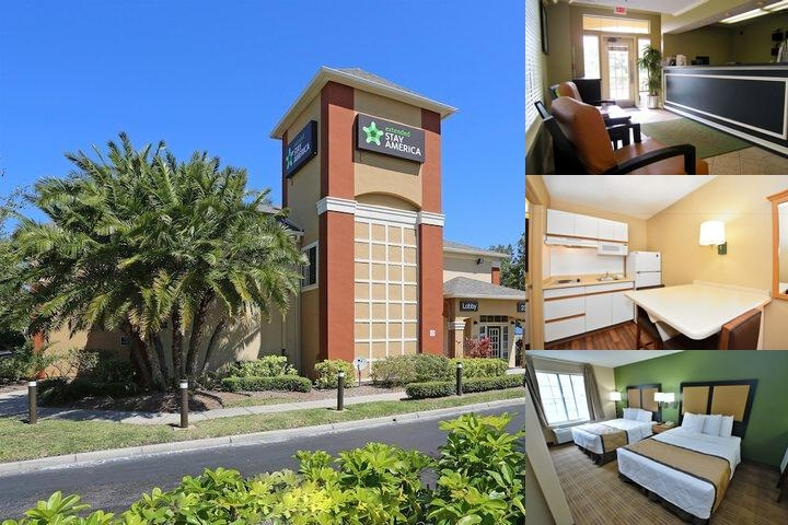 Extended Stay America St. Petersburg Carillon photo collage