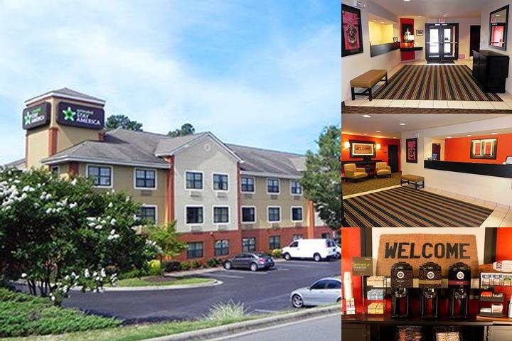 Extended Stay America Charlotte University Place photo collage