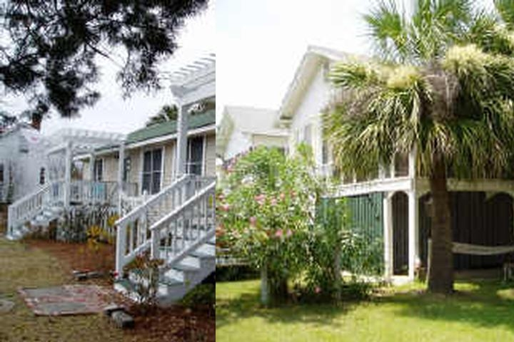 My Beach House Rentals on Tybee photo collage