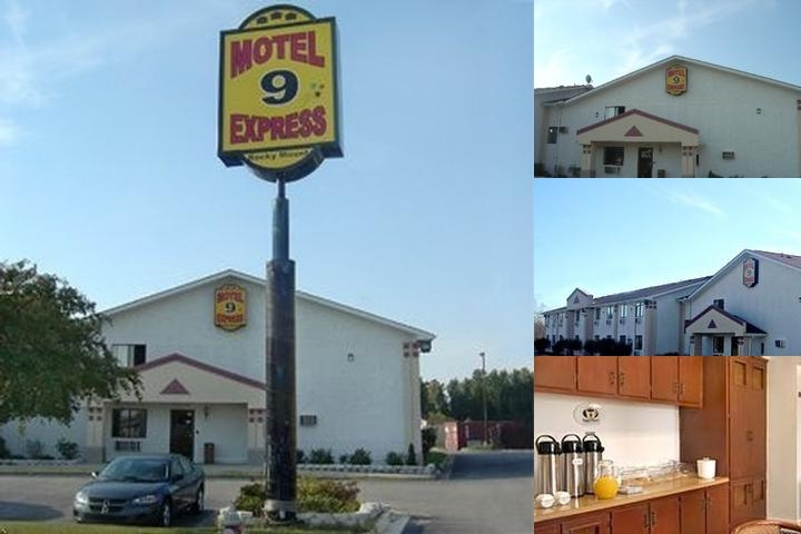 Motel 9 Express photo collage