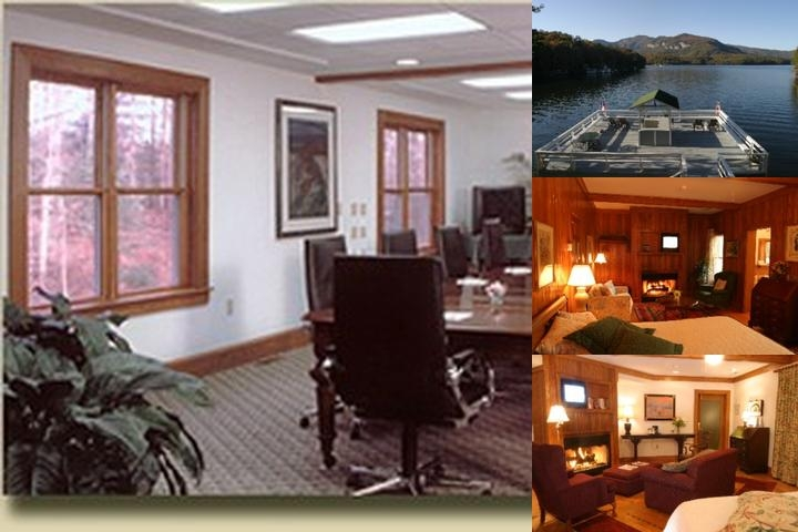 Lodge on Lake Lure photo collage
