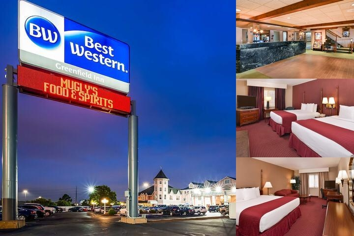Best Western Greenfield Inn photo collage
