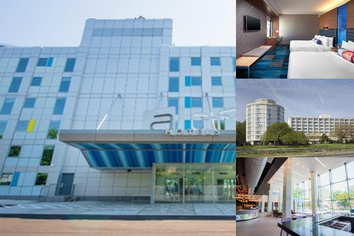 Laguardia Airport Hotel photo collage