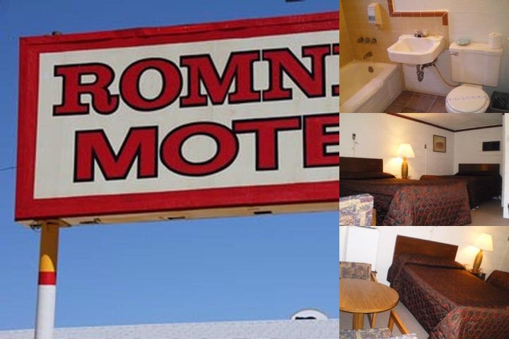Romney Motel photo collage