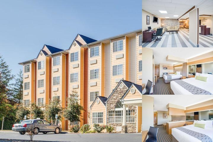 Microtel Suites Pigeon Forge Music Road photo collage