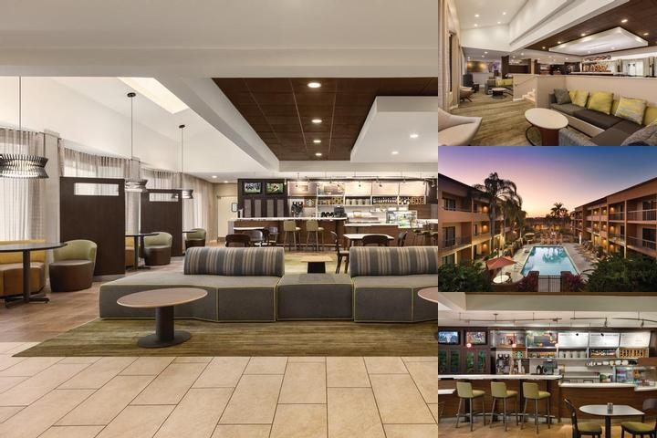 Fort Myers Courtyard photo collage