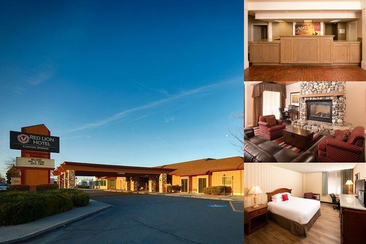 Red Lion Hotel Canyon Springs photo collage