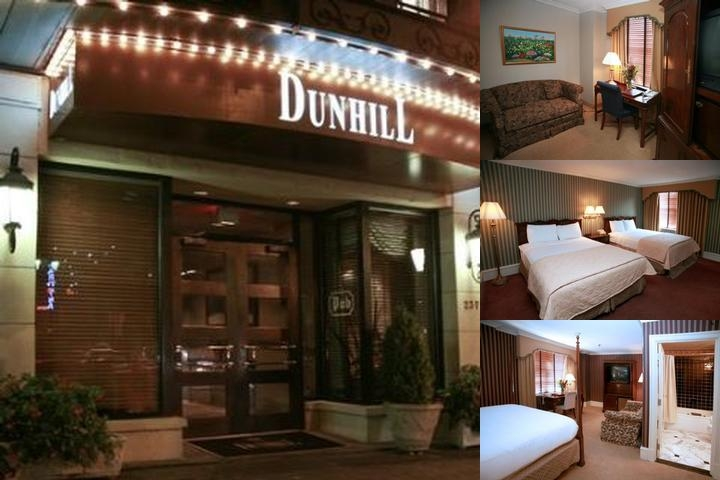The Dunhill Hotel photo collage