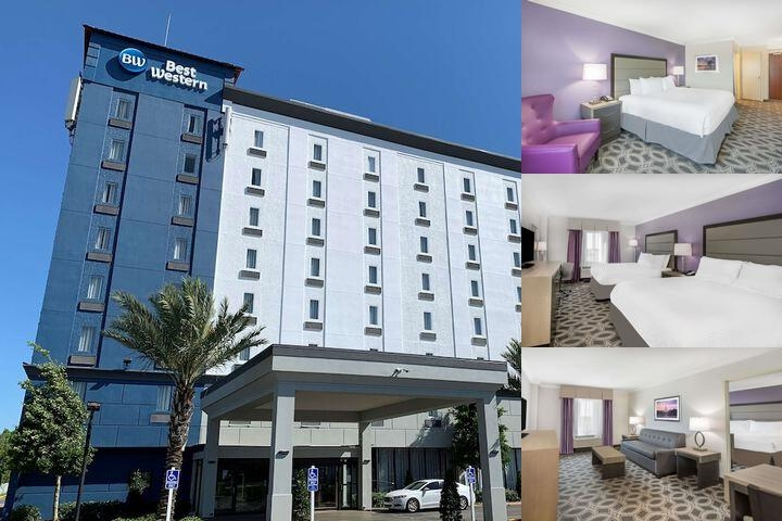 Clarion Hotel New Orleans I 10 Service Road photo collage
