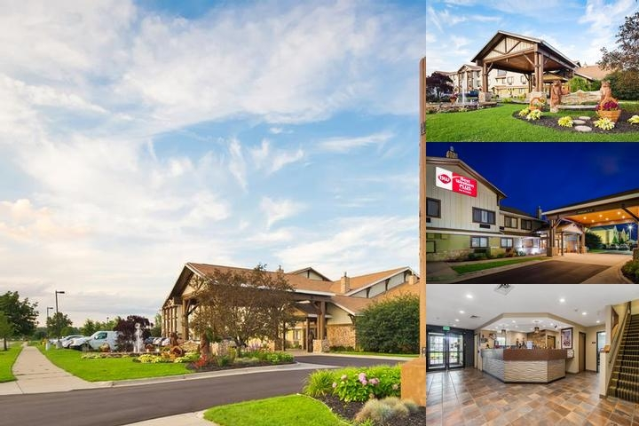 Best Western Plus Holland photo collage