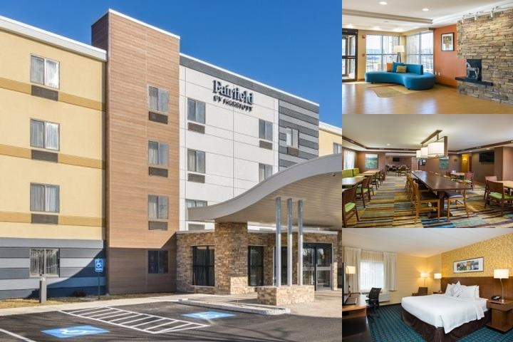 Fairfield Inn Manchester Boston Regional Airport photo collage