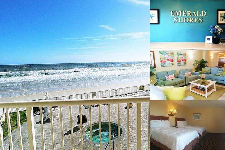 Emerald Shores Hotel photo collage