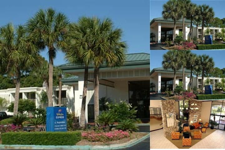 Holiday Inn Express Speedway Daytona Beach photo collage