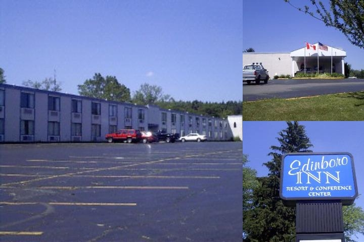 Edinboro Inn photo collage