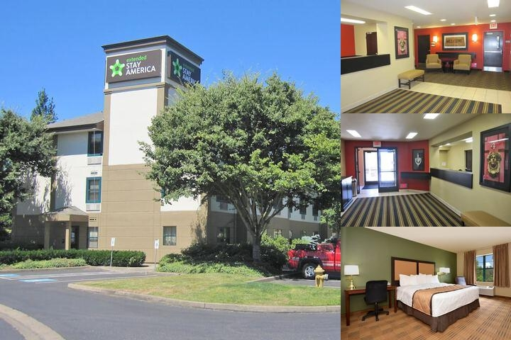 Extended Stay America Portland Vancouver photo collage