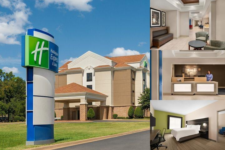 Holiday Inn Express & Suites Mcalester photo collage