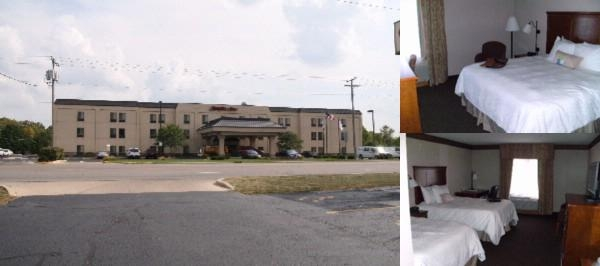 Hampton Inn Marion photo collage